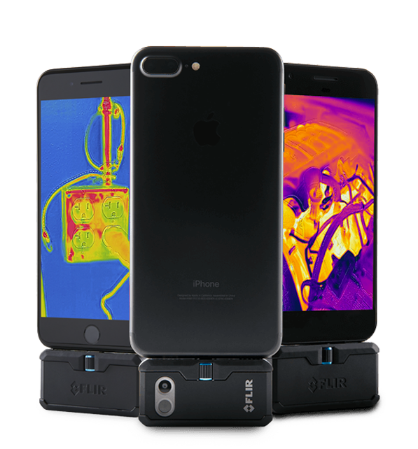 FLIR ONE Pro Termografikamera 160x120 pixler <br>for iOS og Android 2