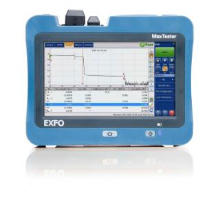 EXFO MaxTester 715B SM OTDR 1310/1500nm m/Oi software