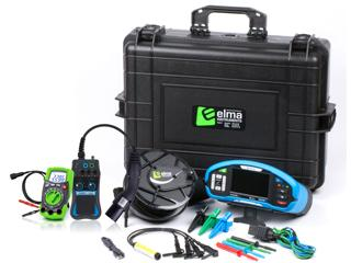 Elma Instrument koffert 20 med Eurotest XDe/30m/El-bil kit